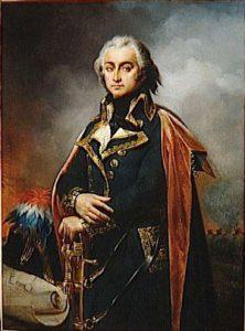 Jean-Baptiste Cyrus de Timbrune de Thiembronne, comte de Valence, (1757 – 1822) Ancien Grand Commandeur du Suprême Conseil pour la France (1821 – 1822)