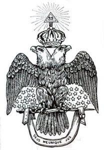 Emblème du Suprême Conseil des US Juridiction Sud (1801)