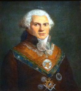 Alexandre-Louis ROËTTIERS DE MONTALEAU (1748 – 1808) Représentant du Grand Maître du Grand Orient de France (1805 - 1808)