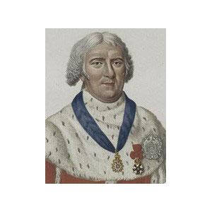 Honoré MURAIRE, comte de l'Empire, (1750 – 1837) Ancien Lieutenant Grand Commandeur du Suprême Conseil pour la France (1825 – 1834) Ancien Grand Commandeur Honoraire du Suprême Conseil pour la France (1834)